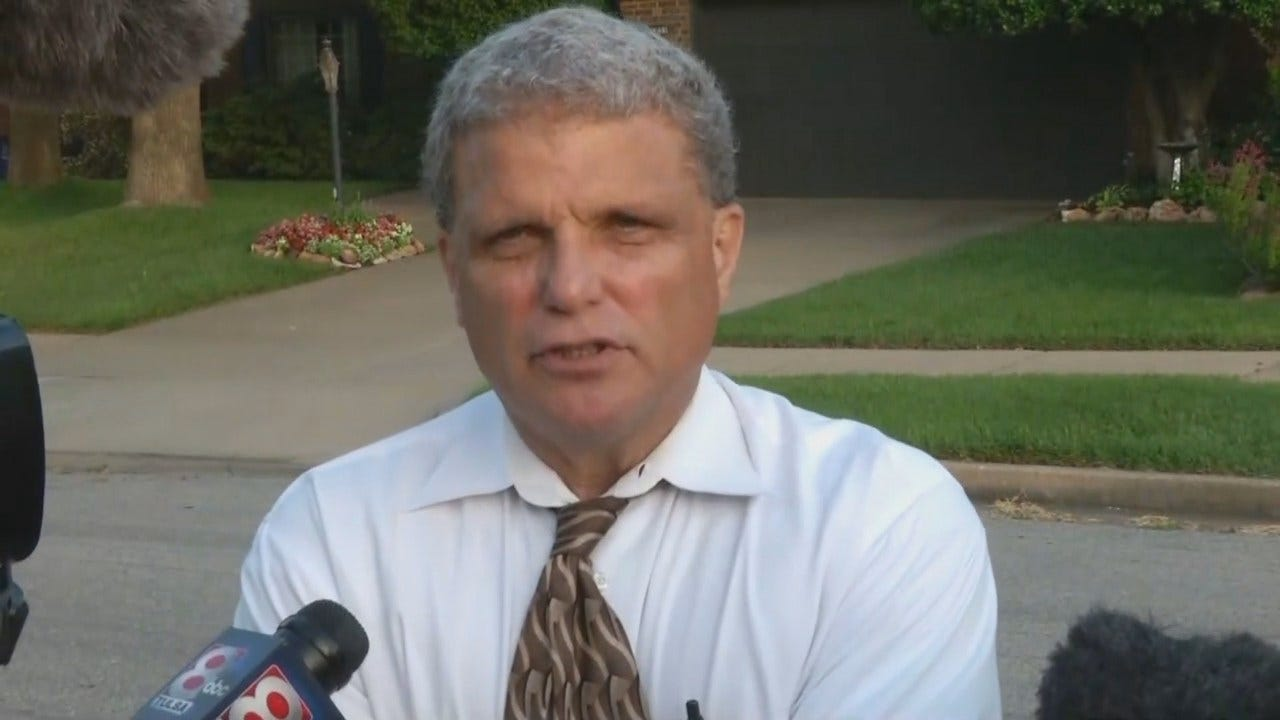 WEB EXTRA: Tulsa Police Sgt. Dave Walker Talks About The City's Latest Murder