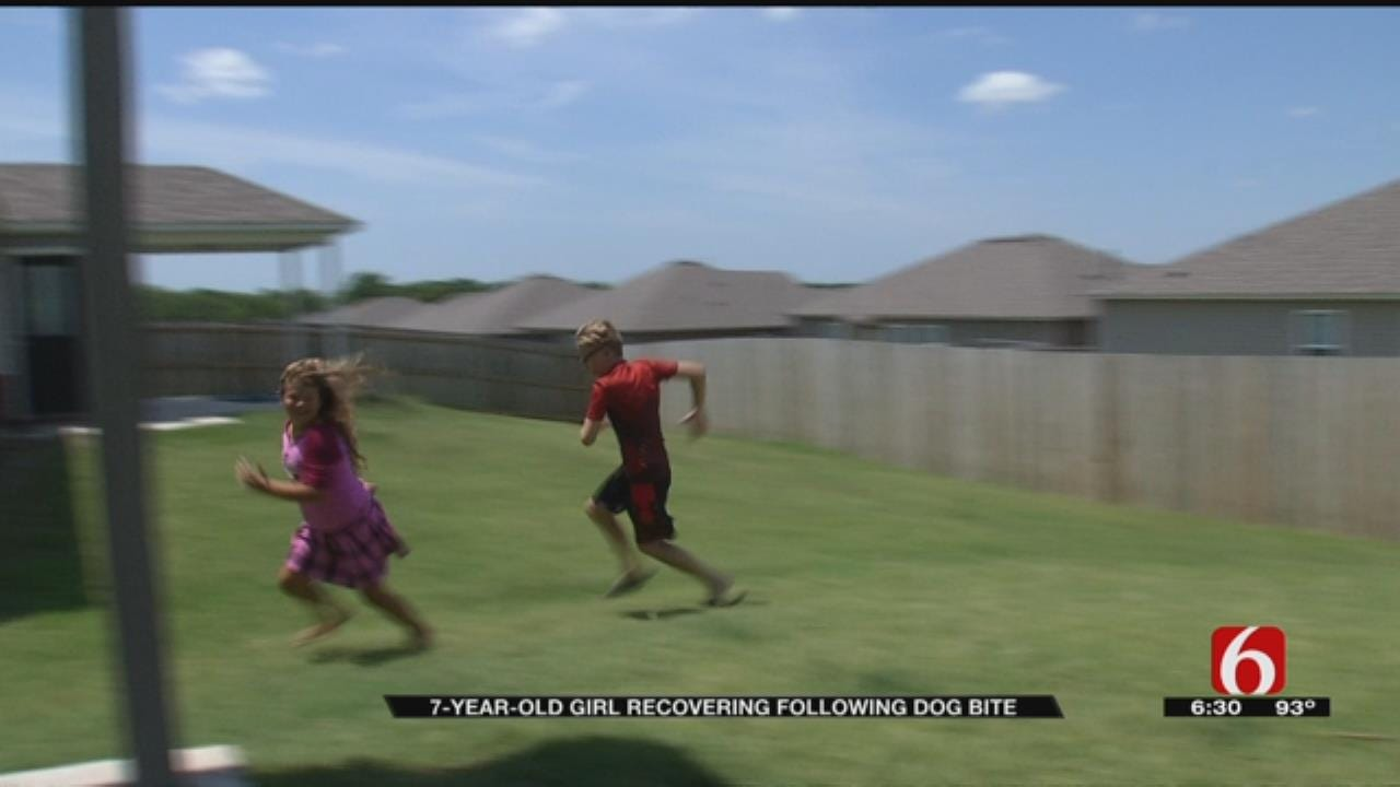Bixby Girl Bitten By Dog For Second Time