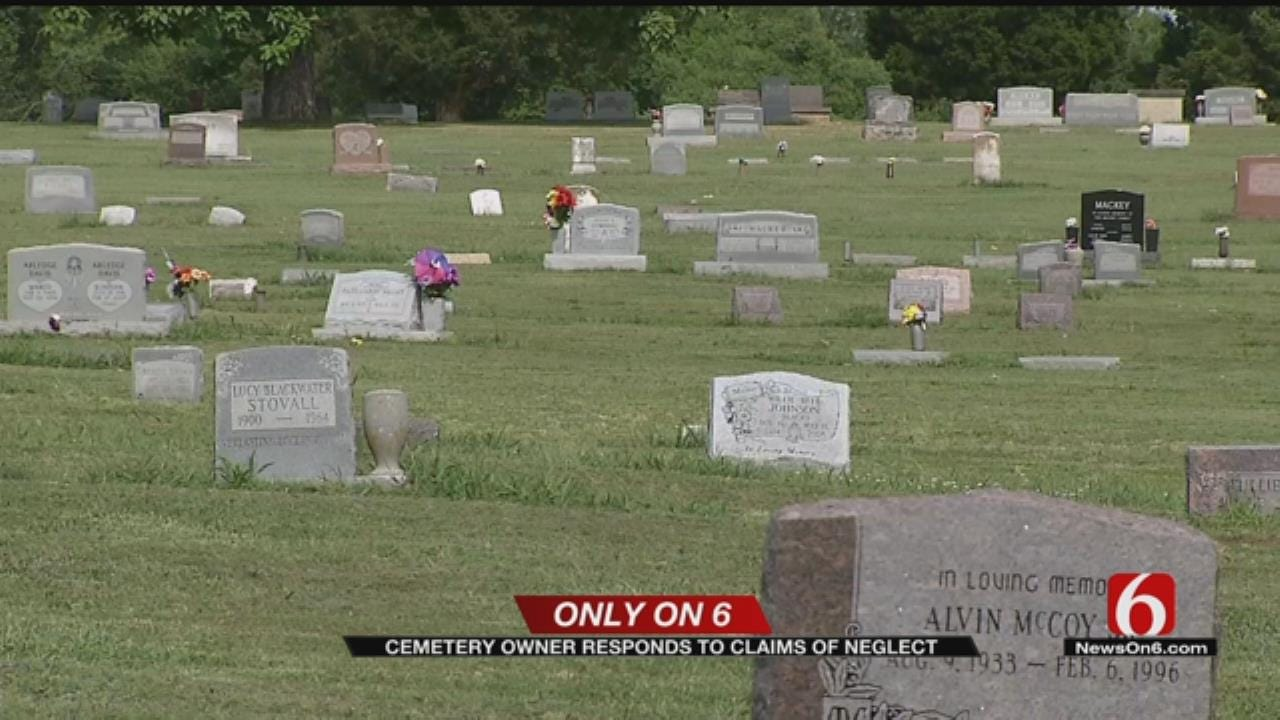 Tulsa Cemetery Owner Responds To Claims Of Negligence