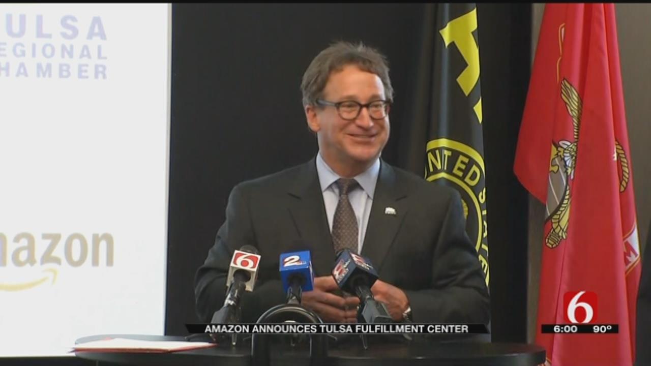 Amazon Announces Plan For Tulsa Fulfillment Center