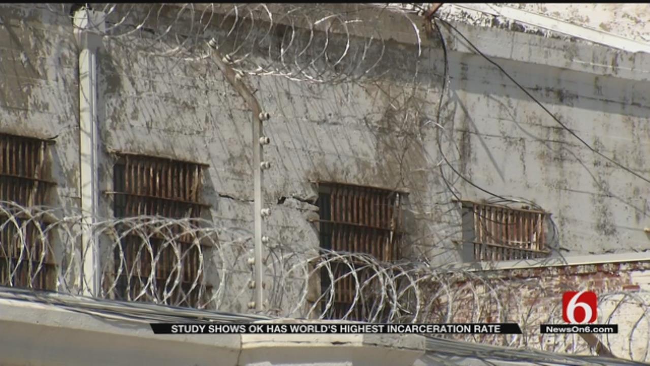 Oklahoma Incarceration Rates Highest In World, Study Shows