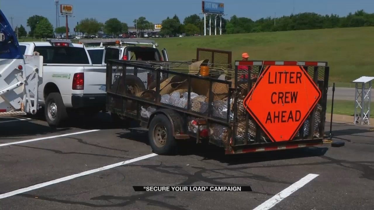 New Campaign Urging People To 'Secure Your Load'