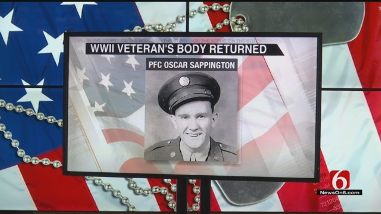 Remains Of WWII Veteran Returned To Tulsa