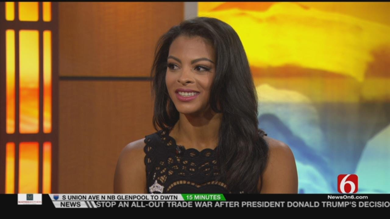 Reigning Miss Oklahoma Stops By 6 In The Morning Ahead Of State Pageant