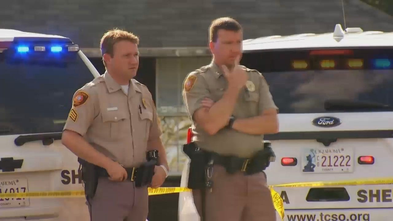 WEB EXTRA: Video From Scene Of Fatal Tulsa County Shooting