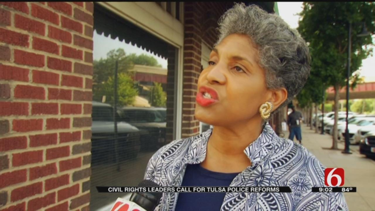 Tulsa Civil Rights Groups Call For Police Reform