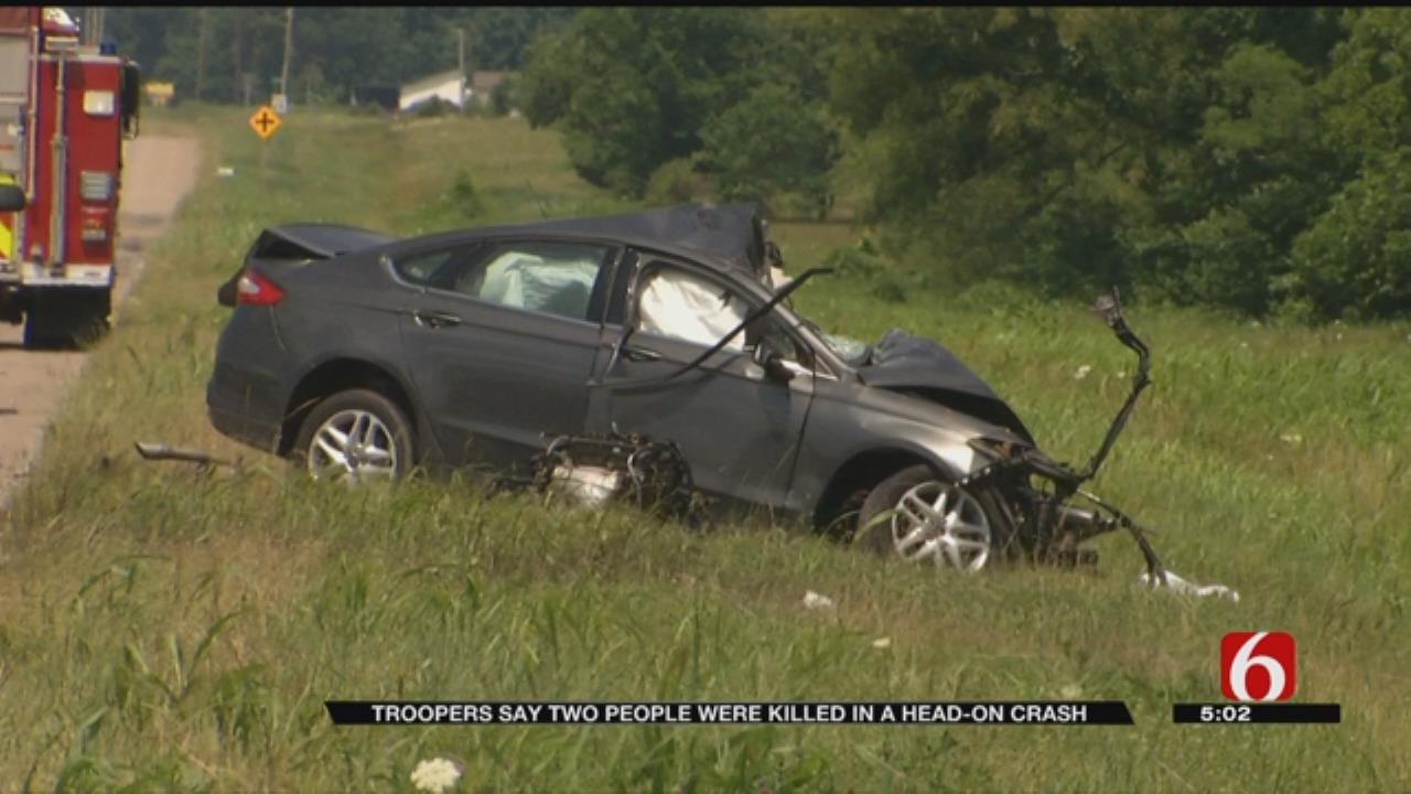 Two People Killed In Wreck Near Pryor