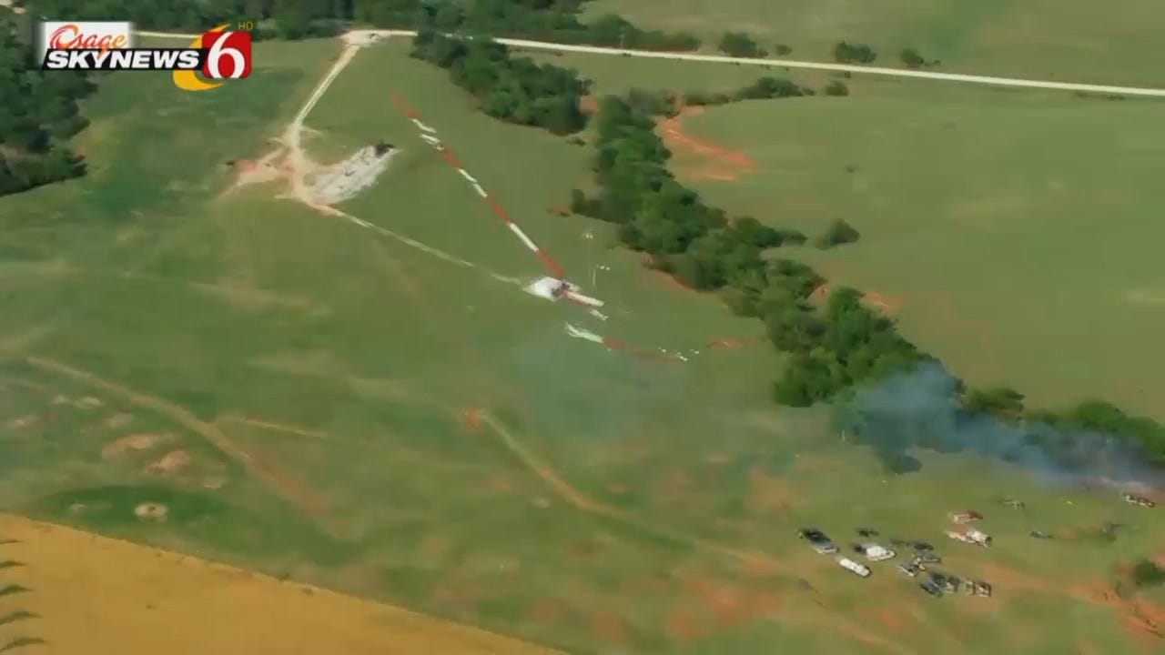 WEB EXTRA: Video From Osage SkyNews 6 Of The Crash Site