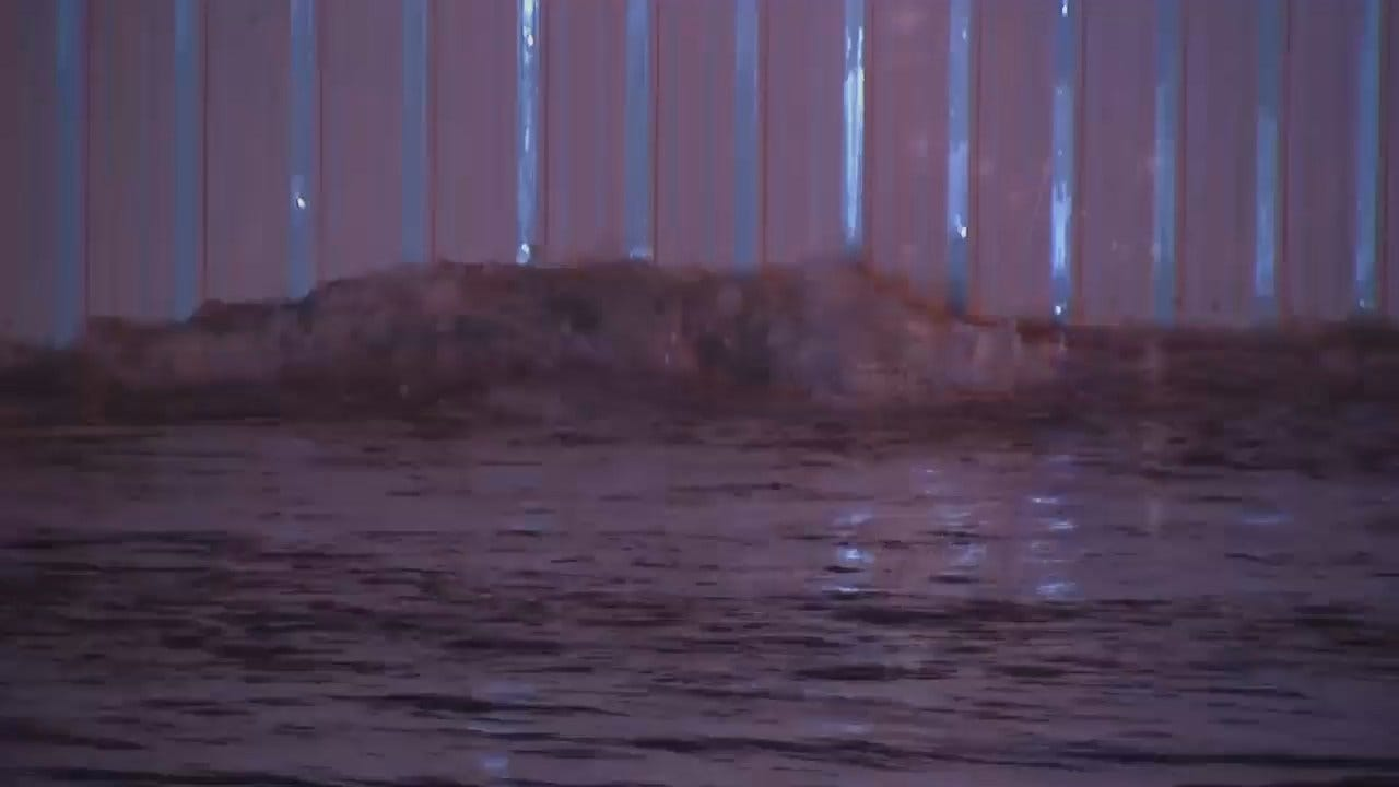 WEB EXTRA: Video Of Pine Water Line Break