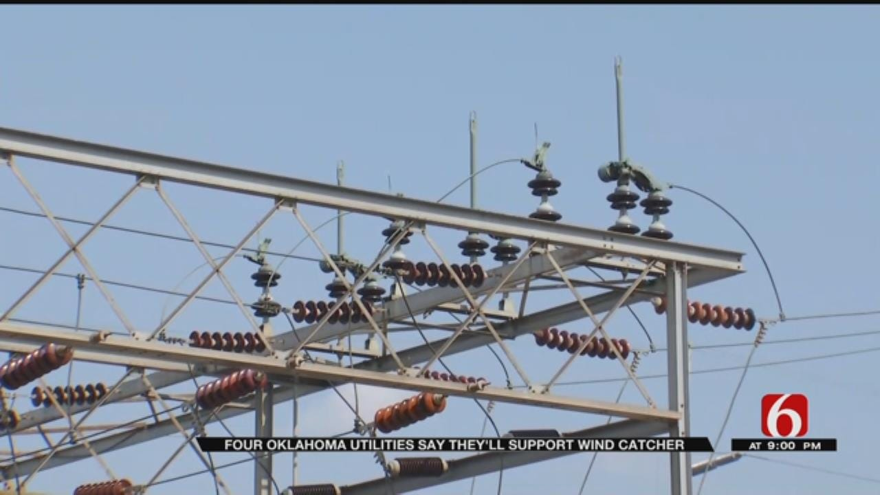 Four Oklahoma Utility Companies Give Support To PSO Wind Catcher Project