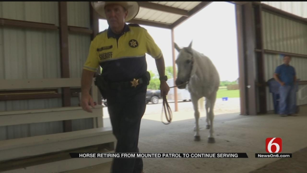 Rogers County Mounted Patrol Officer Moving To Different Type Of Service