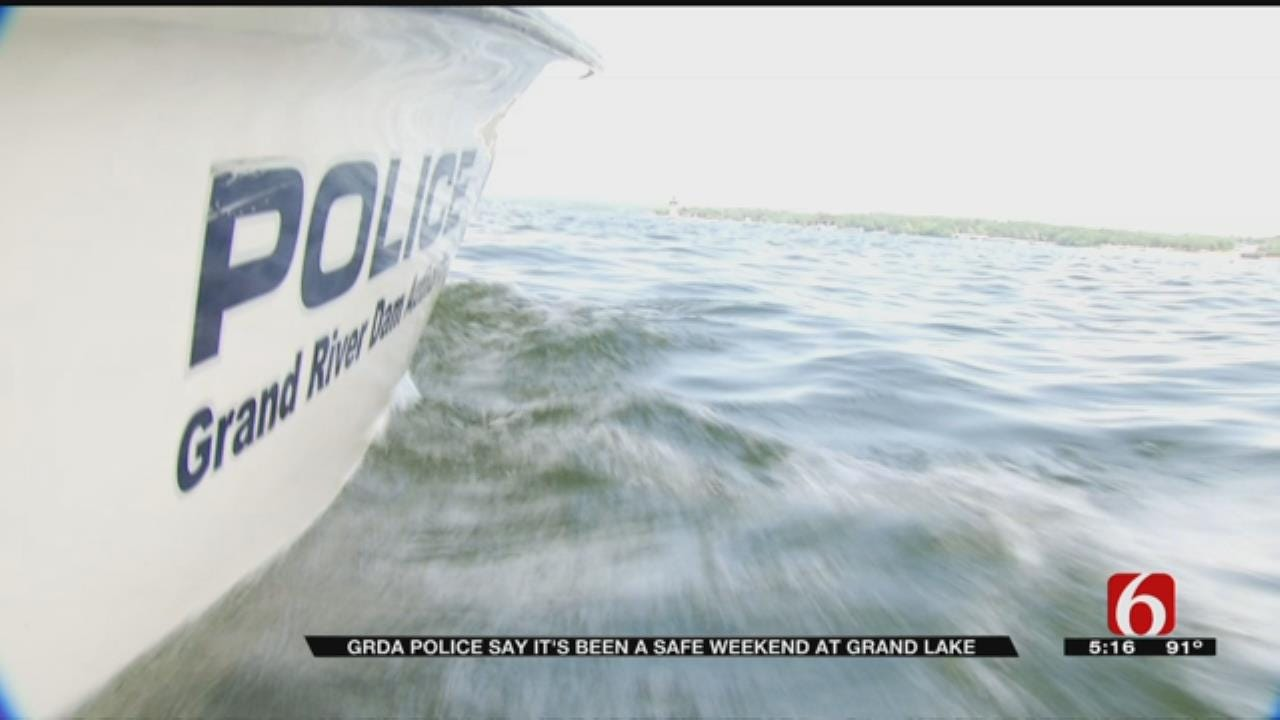 GRDA Police Make Rounds To Keep Lake-Goers Safe