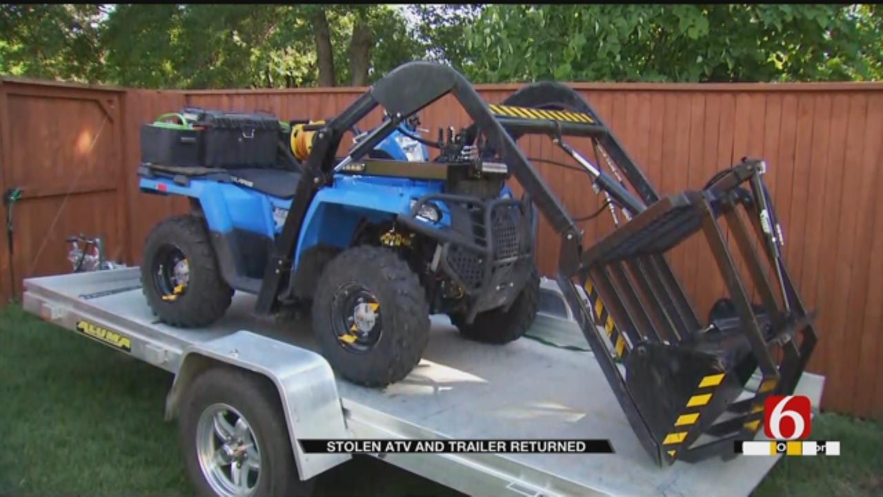 Update: Stolen Disaster Relief Equipment Found