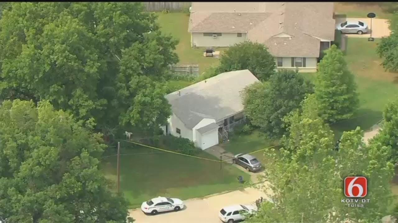 Osage SkyNews 6 HD Flies Over Home Where Body Found