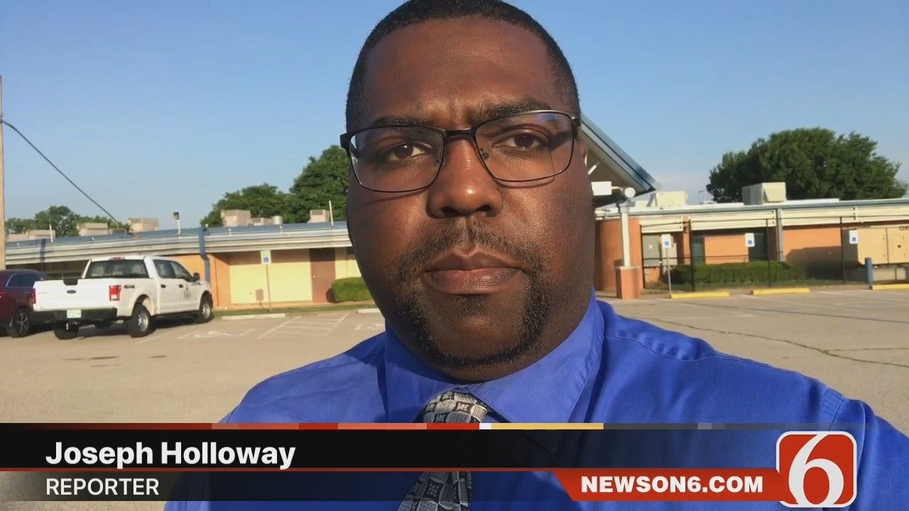 Joseph Holloway Reports On Two Men Shot At Tulsa Apartment Complex
