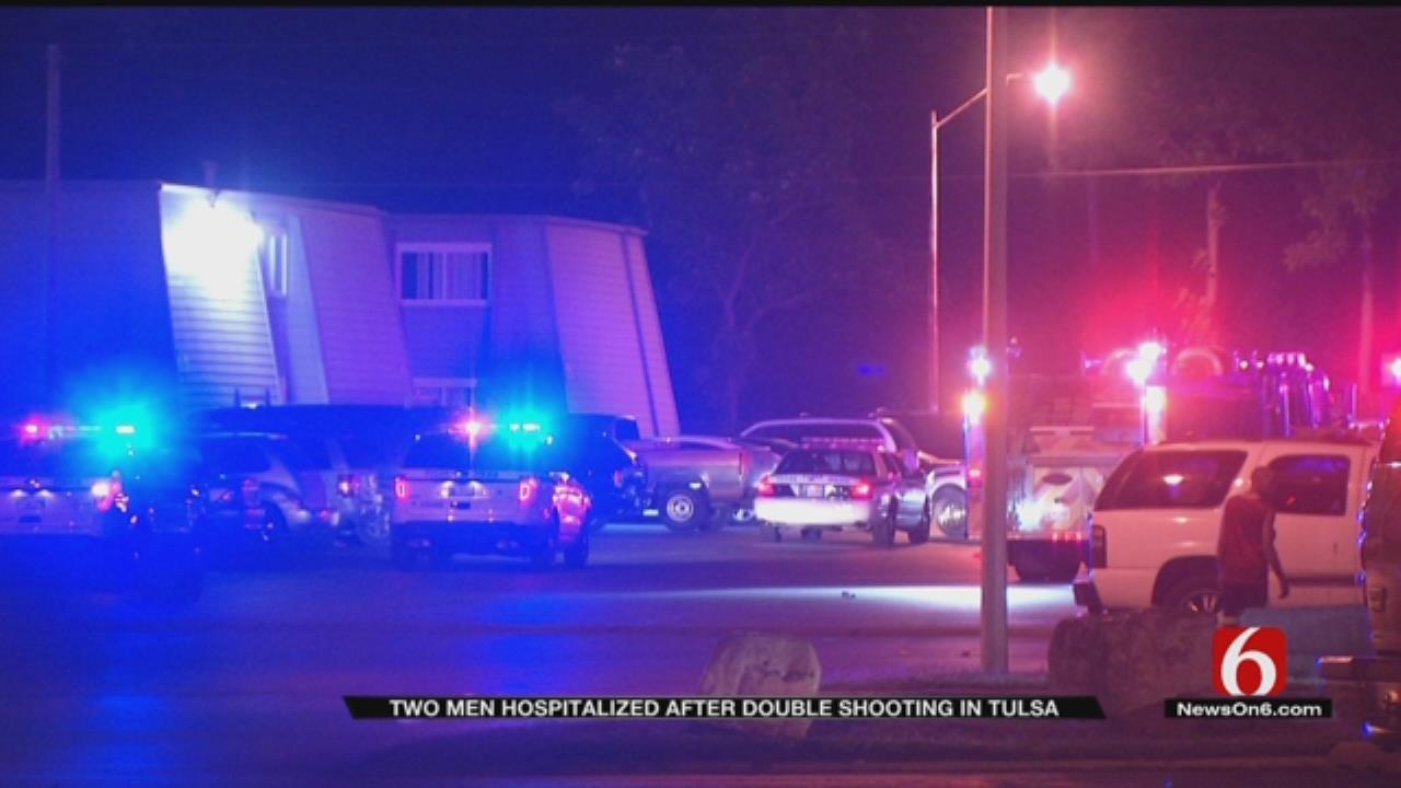 Two Men Shot At Tulsa Apartment Complex