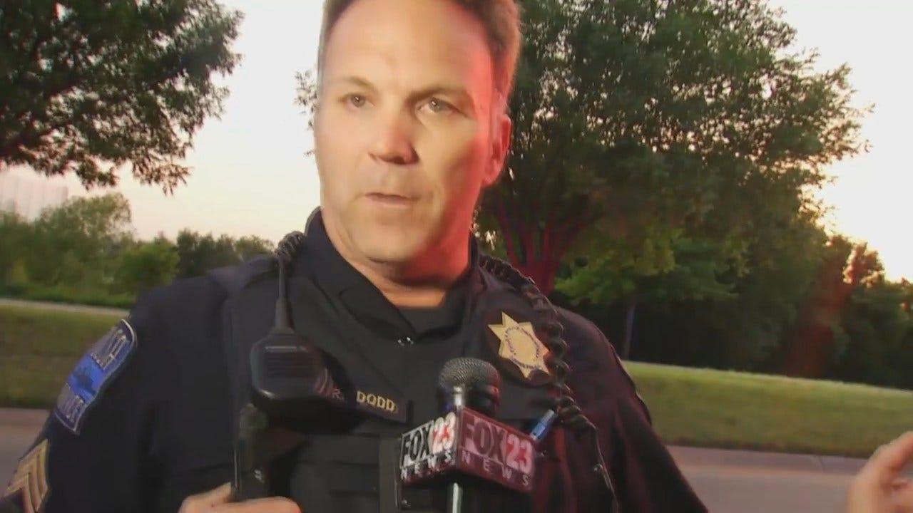 WEB EXTRA: Tulsa Police Sgt. Kurt Dodd Talks About Crash And Arrest Of Truck Driver
