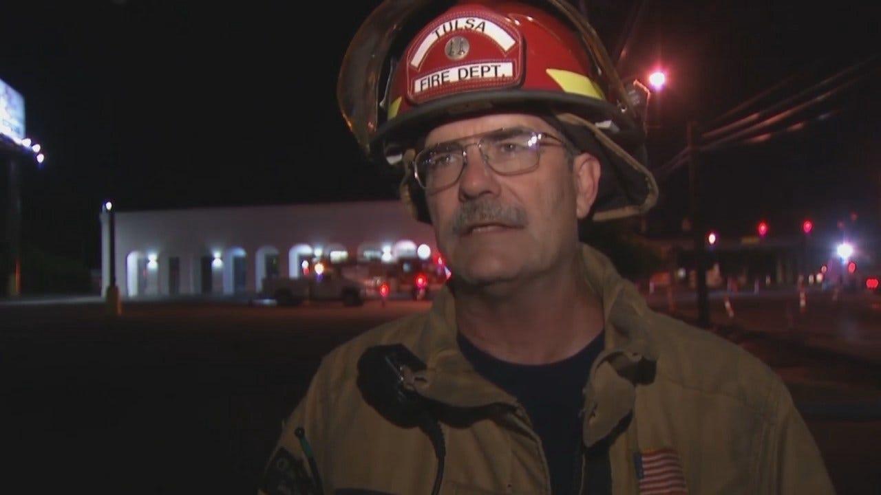 WEB EXTRA: Tulsa Fire Department Captain Alan Barnes Talks About The Leak