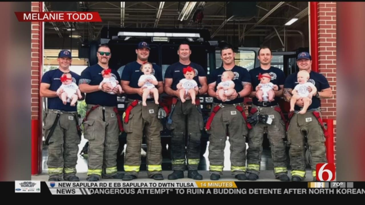 Glenpool Firefighters Have Baby Boom