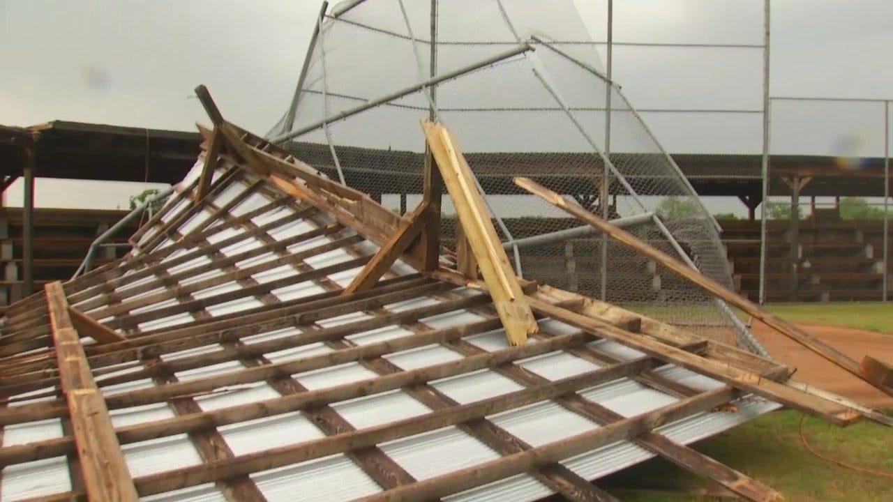 WEB EXTRA: Video Of Fairfax Storm Damage