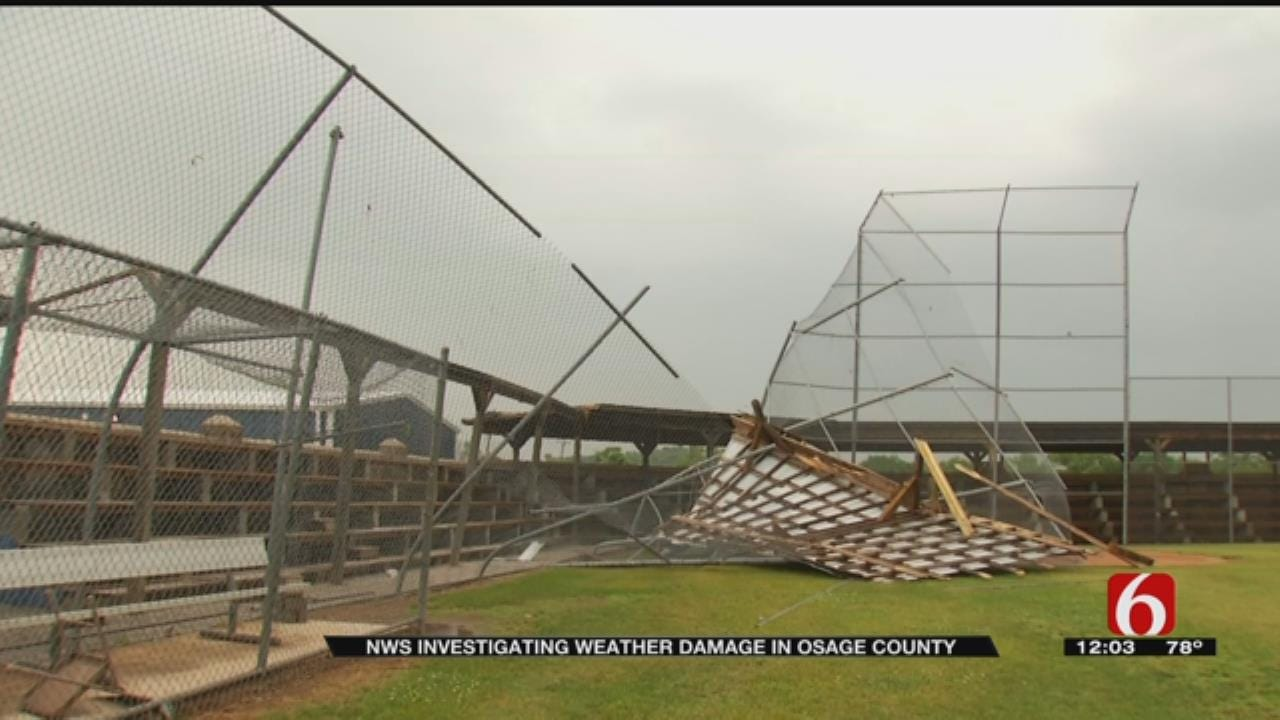 NWS: Straight-Line Winds, Not Tornado Caused Damage In Fairfax
