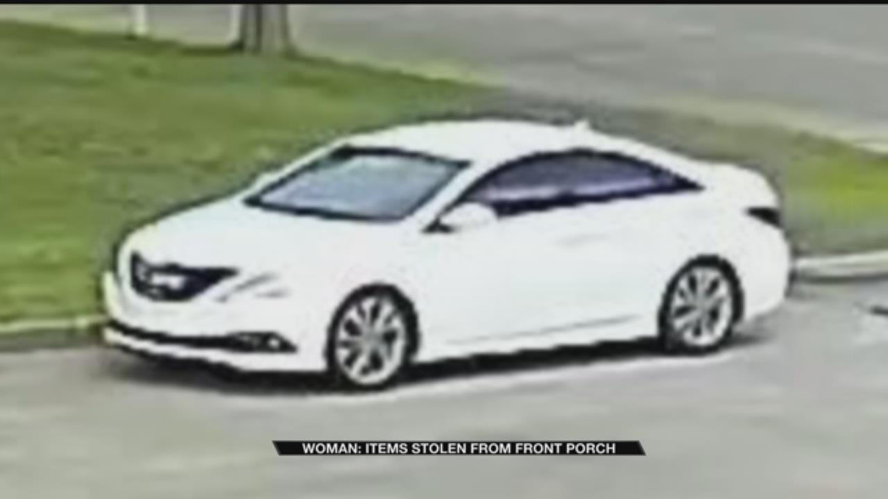 Claremore Woman Says $1,000 In Items Stolen From Her Porch