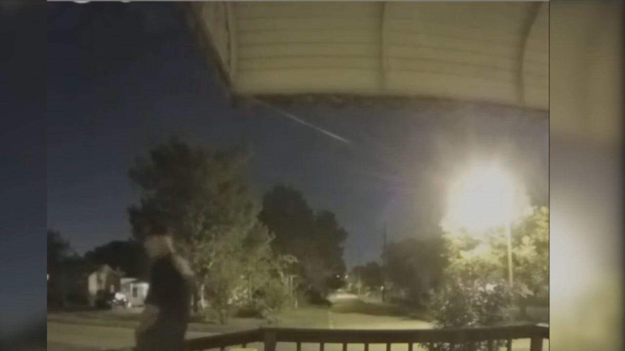 WEB EXTRA: Surveillance Video From Attempted Tulsa Burglary