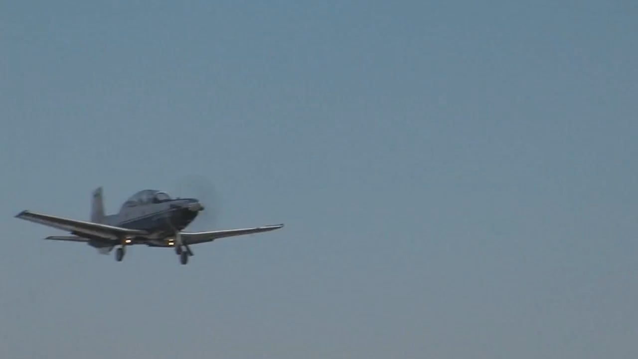 WEB EXTRA: Hinton, Oklahoma Asks Air Force In Wind Farm Battle