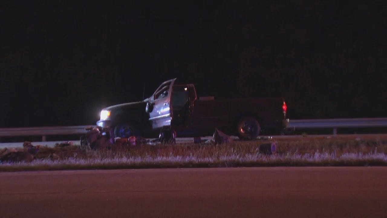 WEB EXTRA: Video From Tulsa Tisdale Expressway Crash