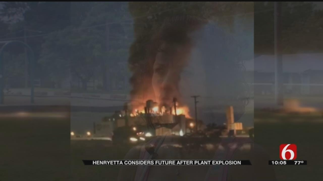 Henryetta Mayor On What's Next After Glass Plant Explosion