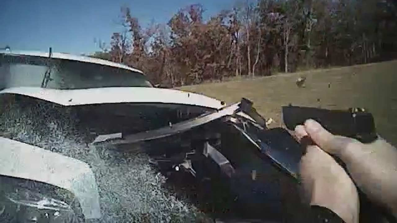WEB EXTRA: Dramatic Body-Cam Video From Sand Springs Police