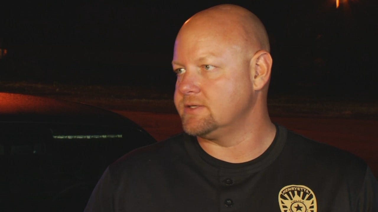 WEB EXTRA: Henryetta Police Chief Steve Norman Talking About The Fire