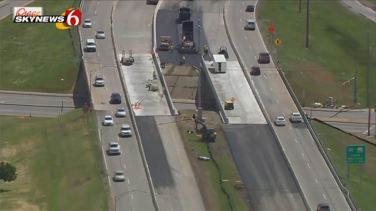 WEB EXTRA: Osage SkyNews 6 HD View Of The BA Expressway At Sheridan