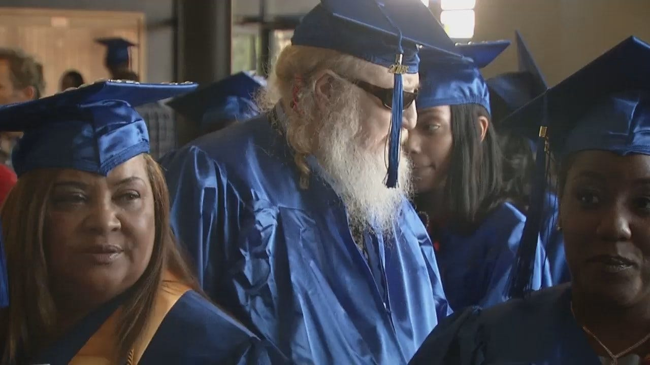 WEB EXTRA: Video Of Stephen Boyd Cate's Graduation At TCC