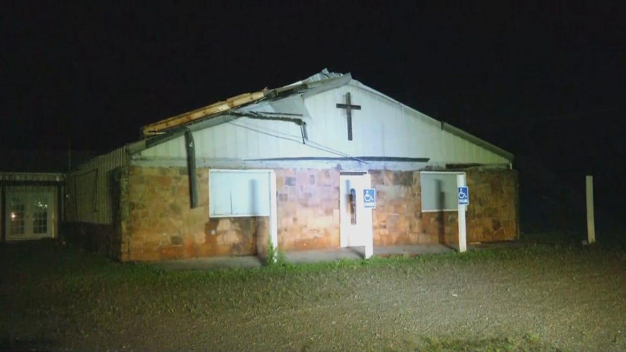 WEB EXTRA: Video Of Copan Church Damage