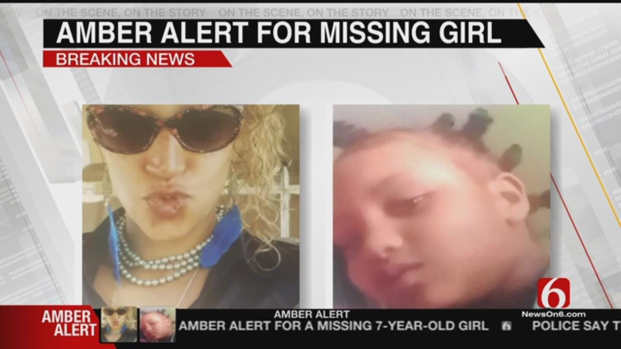Amber Alert Issued For Missing Tulsa Girl; Mother Suspected In Abduction
