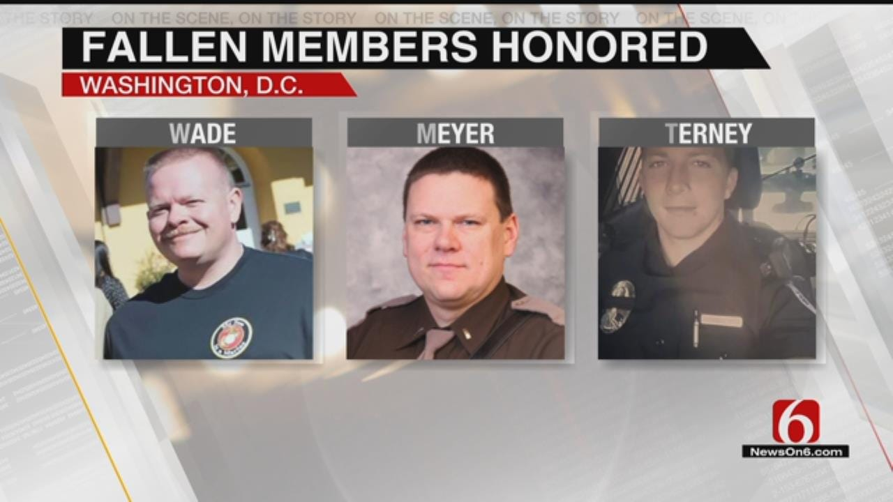 Fallen Officers Remembered With Candle Light Vigil