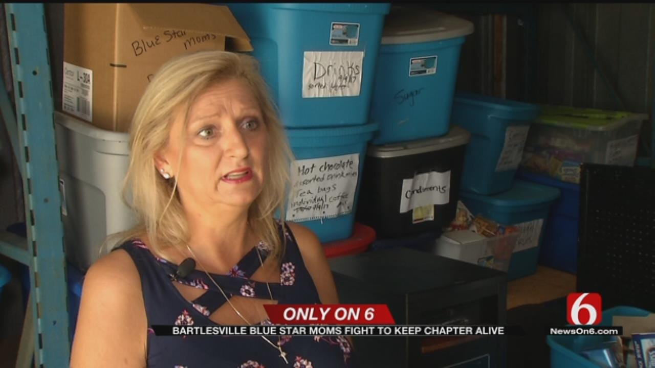 Bartlesville Blue Star Mothers At Risk Of Closing Chapter