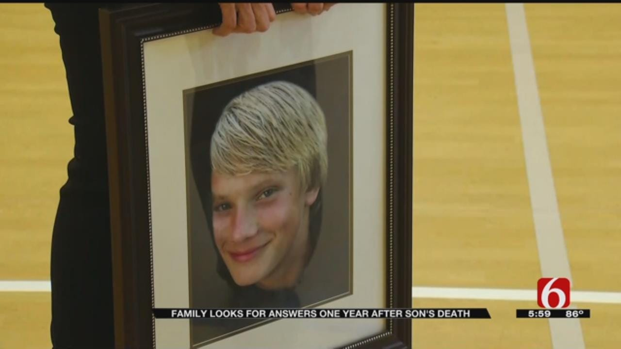 Parents Seek Answers One Year After Son's Death