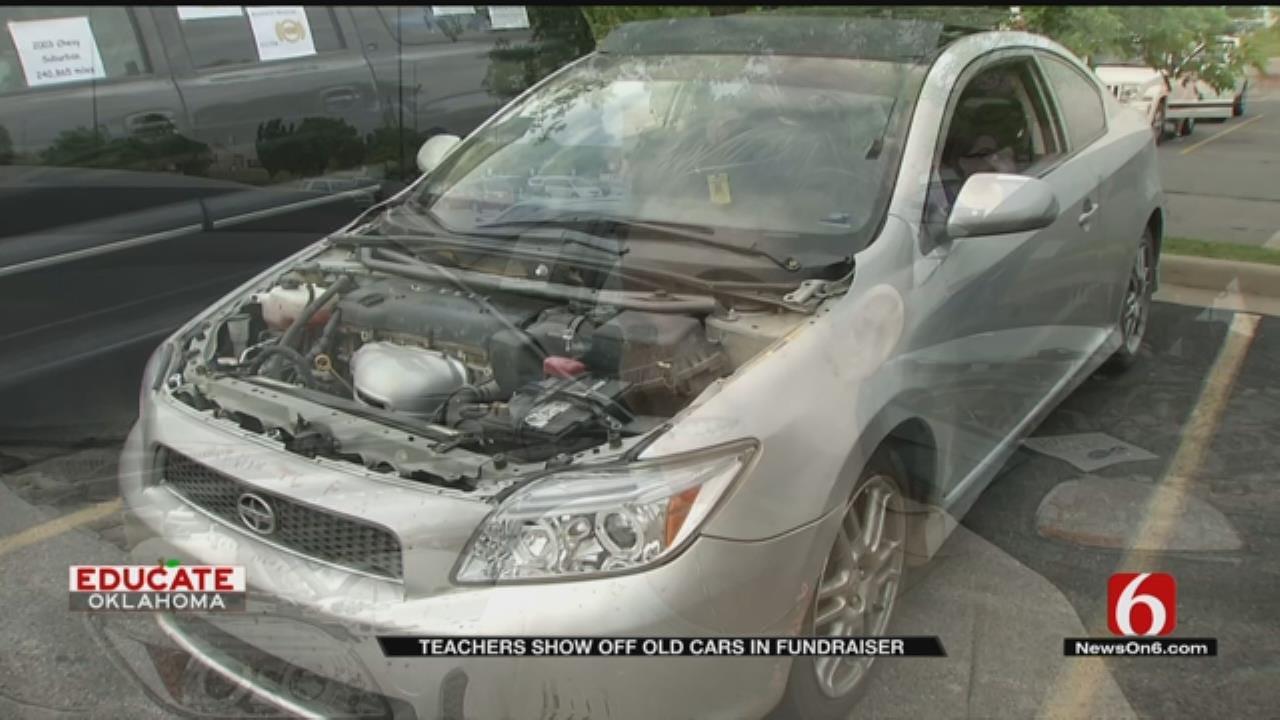 Teachers Hold Car Show Fundraiser In Tulsa