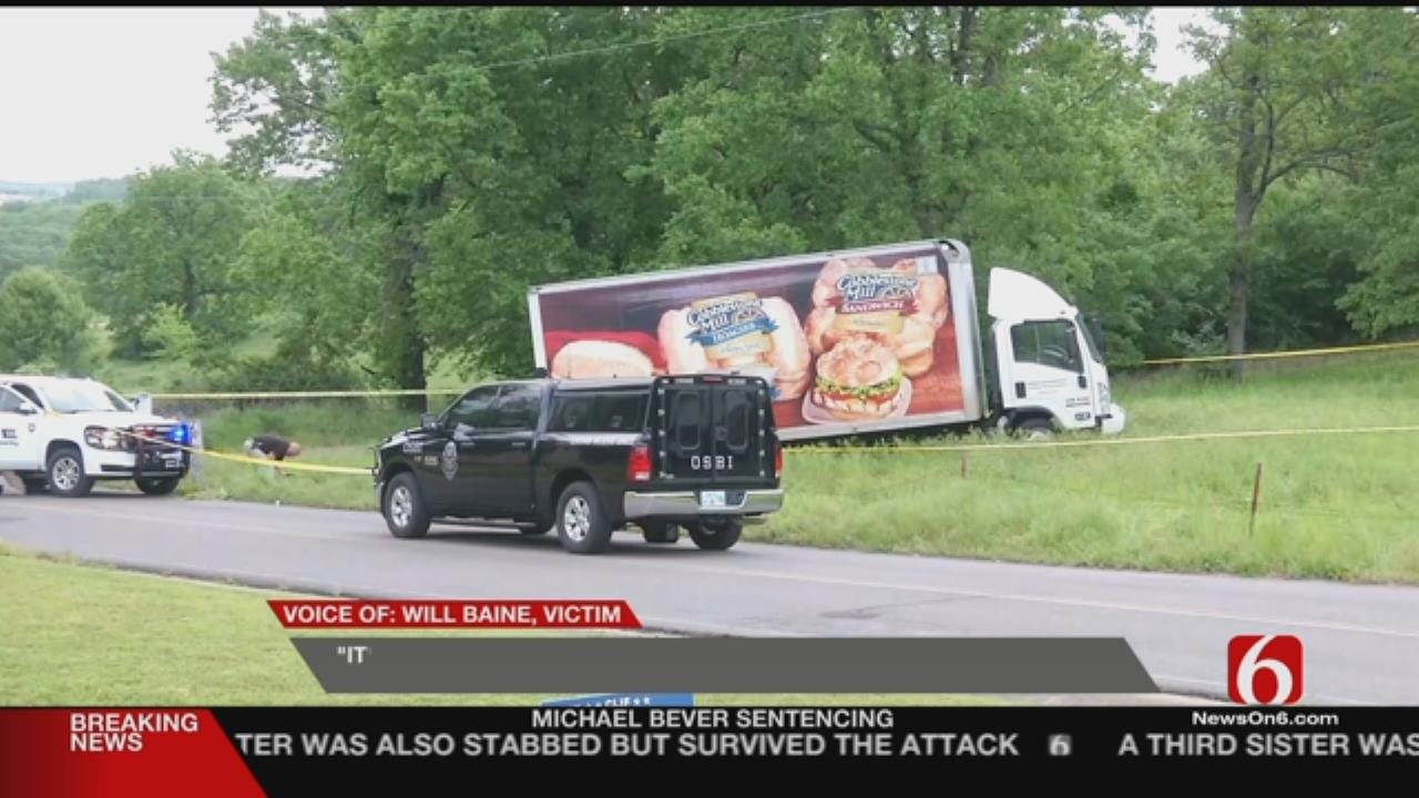 Tahlequah Shooting Throws Kink In Truck Driver's Day