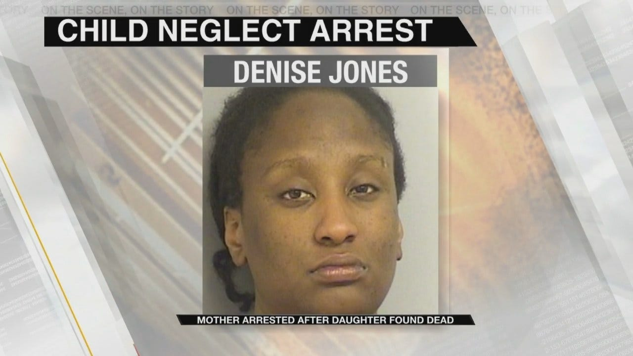 Tulsa Mother Facing Child Neglect Charges Didn't Realize Baby Was Dead For Hours