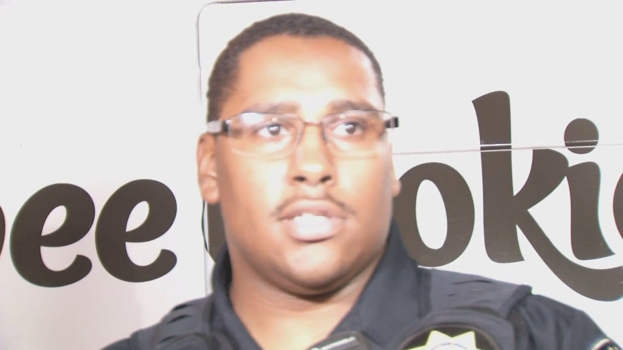 WEB EXTRA: Tulsa Police Officer Cazenave Talks About The Burglaries