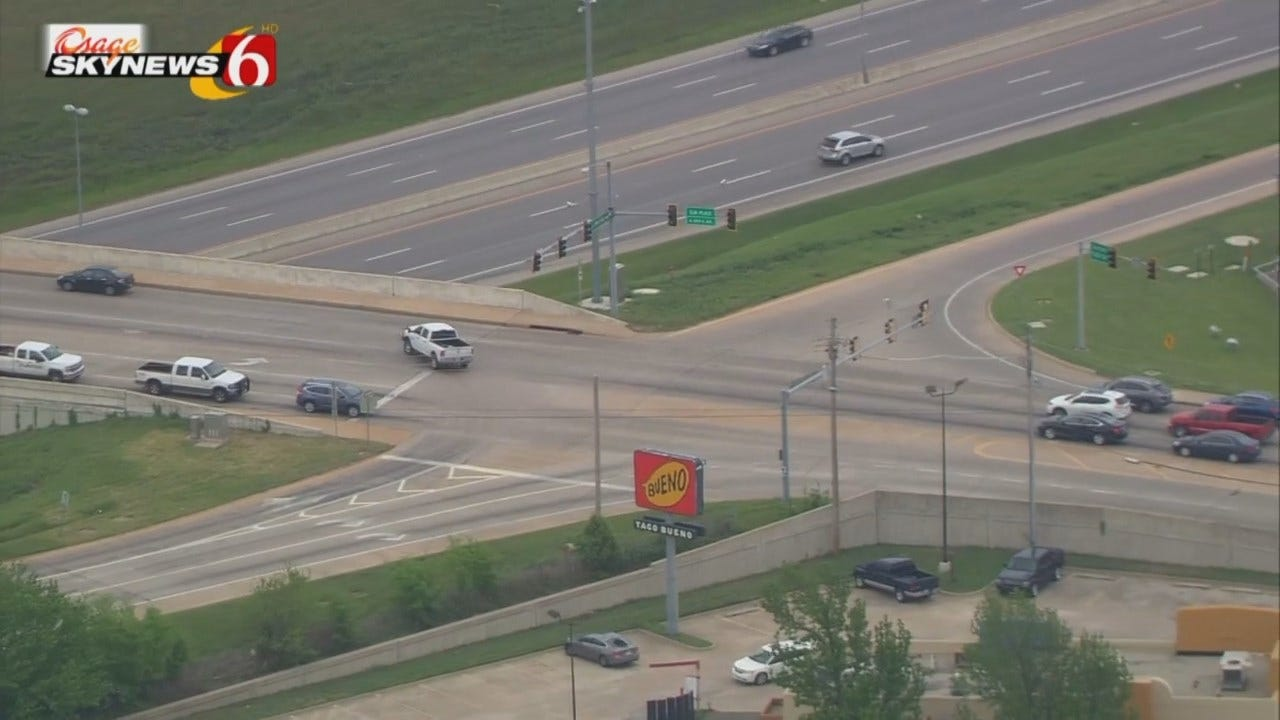 WEB EXTRA: Video From Osage SkyNews 6 HD Of BA Traffic Signal Work Location