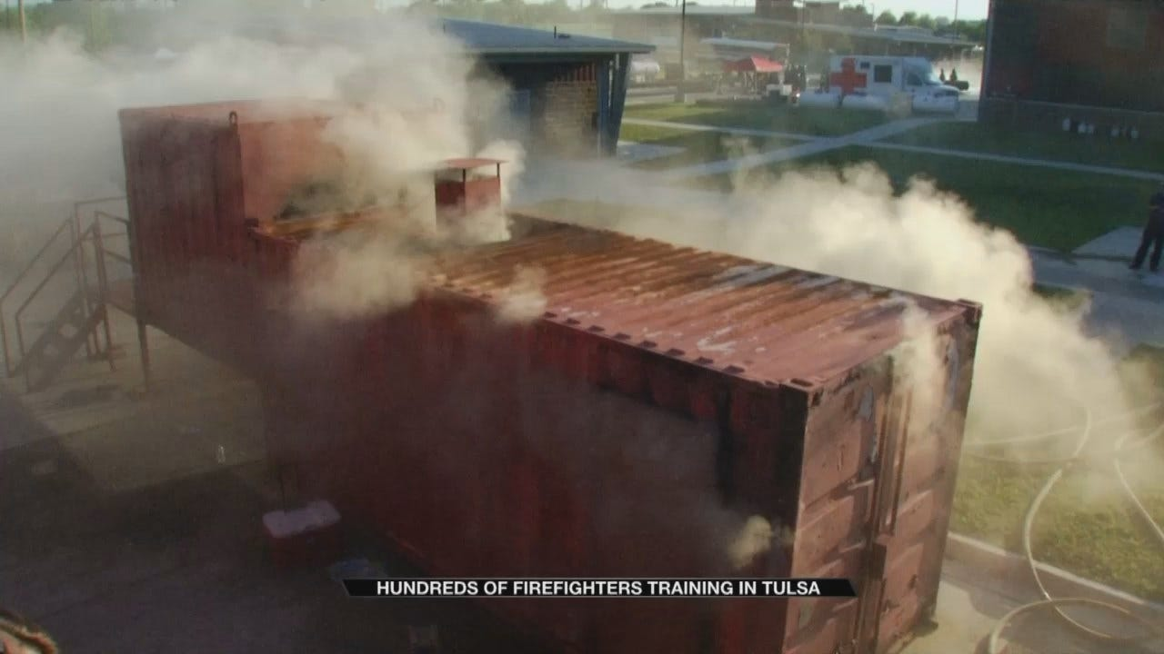 Firefighters Gather In Tulsa For Special Training
