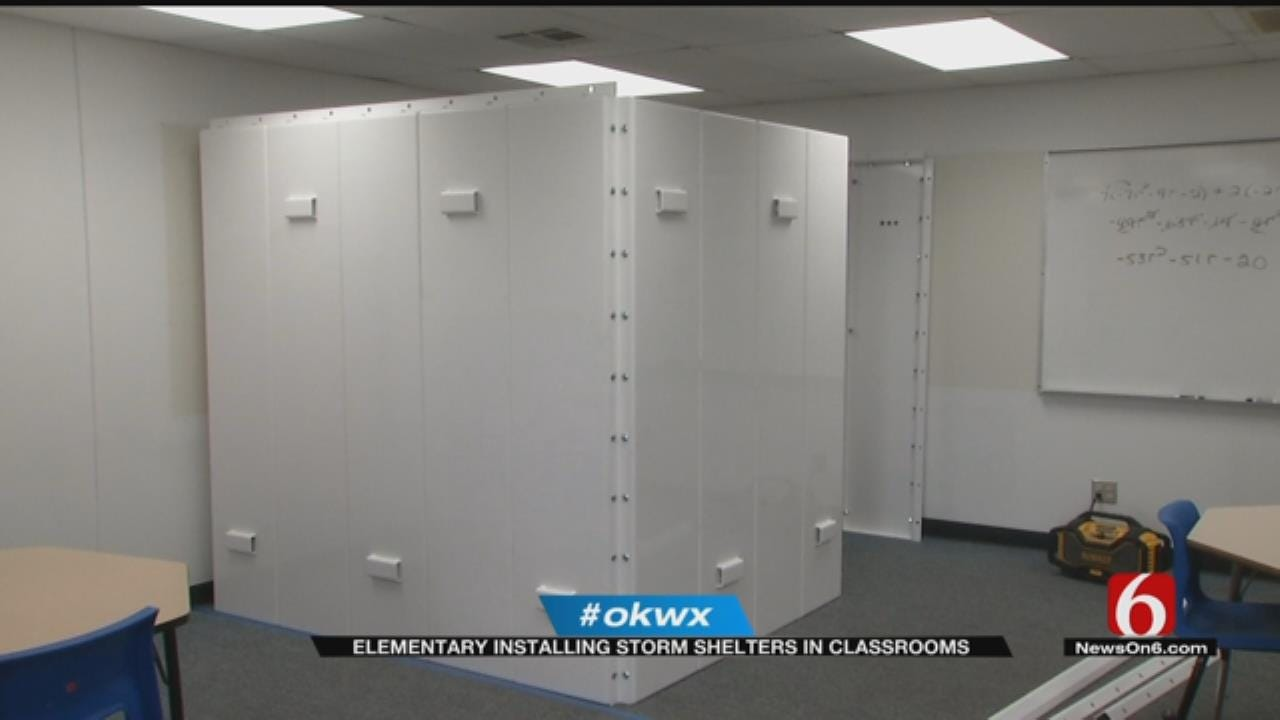 Bartlesville School Adds Storm Shelters Classrooms