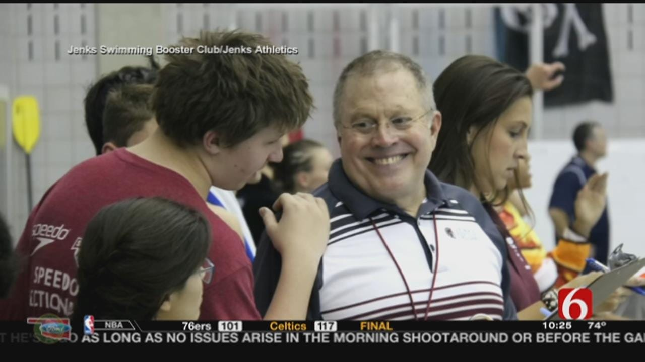 Jenks Swim Coach Retiring After 40 Years, 28 State Titles