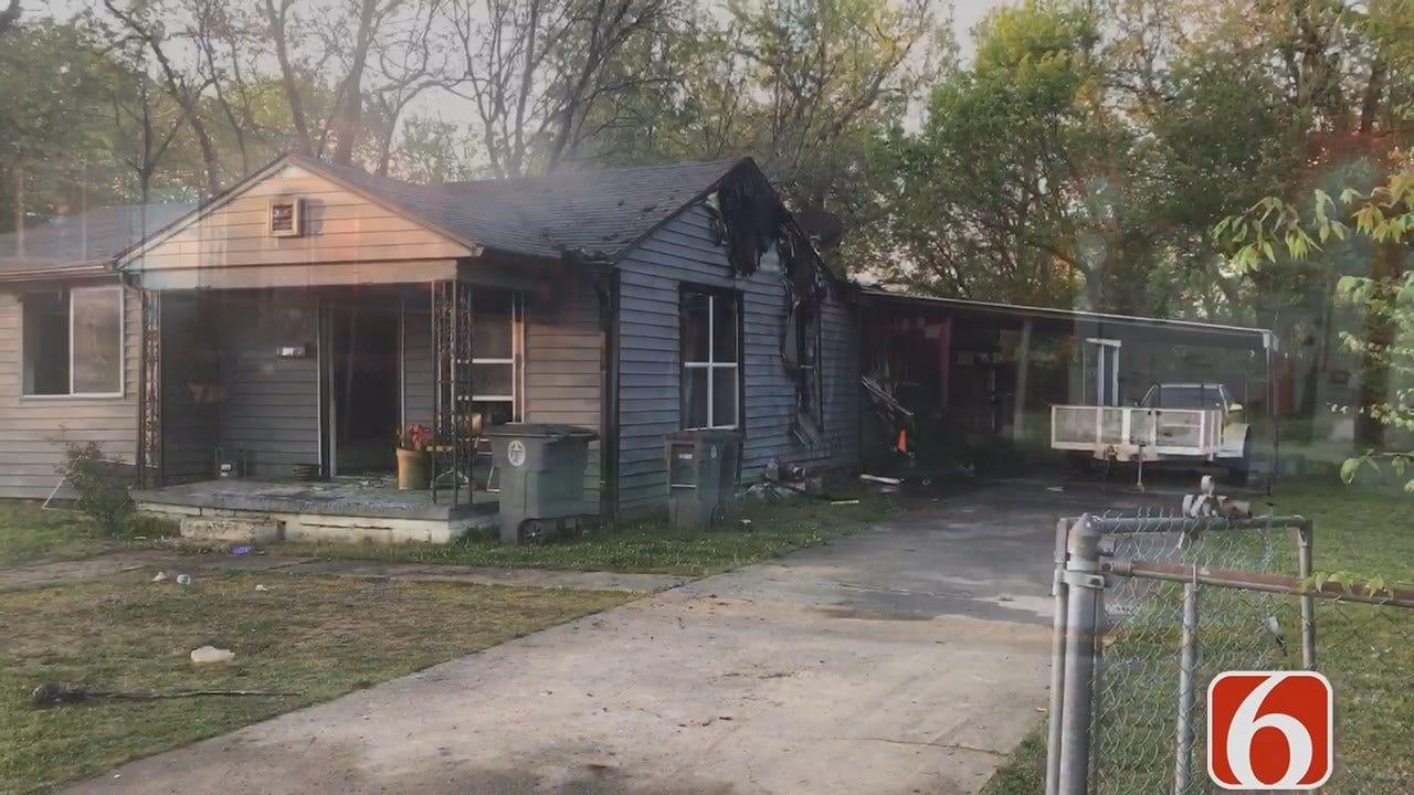 Julia Benbrook: Tulsa House Destroyed By Fire