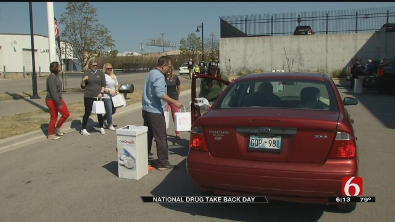 News On 6 Hosts Drug Take Back Event