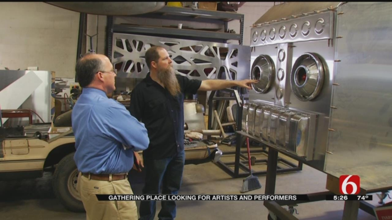Tulsa's Gathering Place To Display Local Art